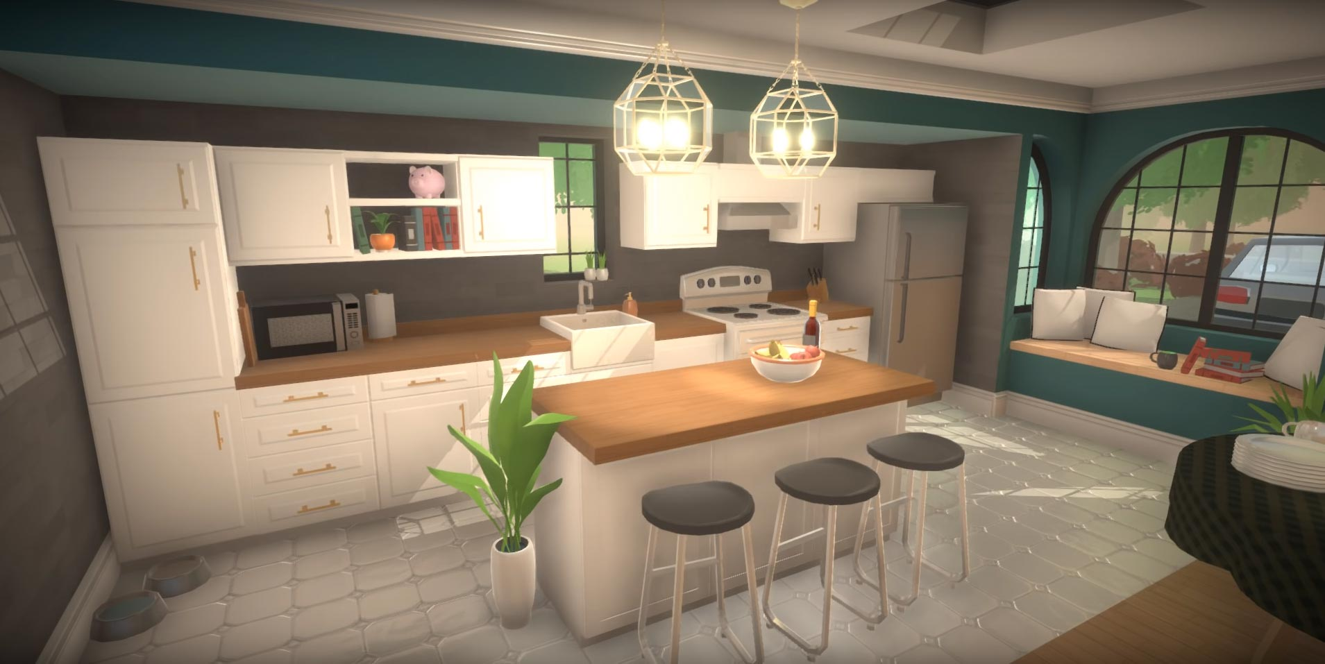 Thanksgiving update: Kitchens and Colour Wheels